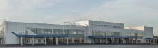 Building of International Airport, Tomsk